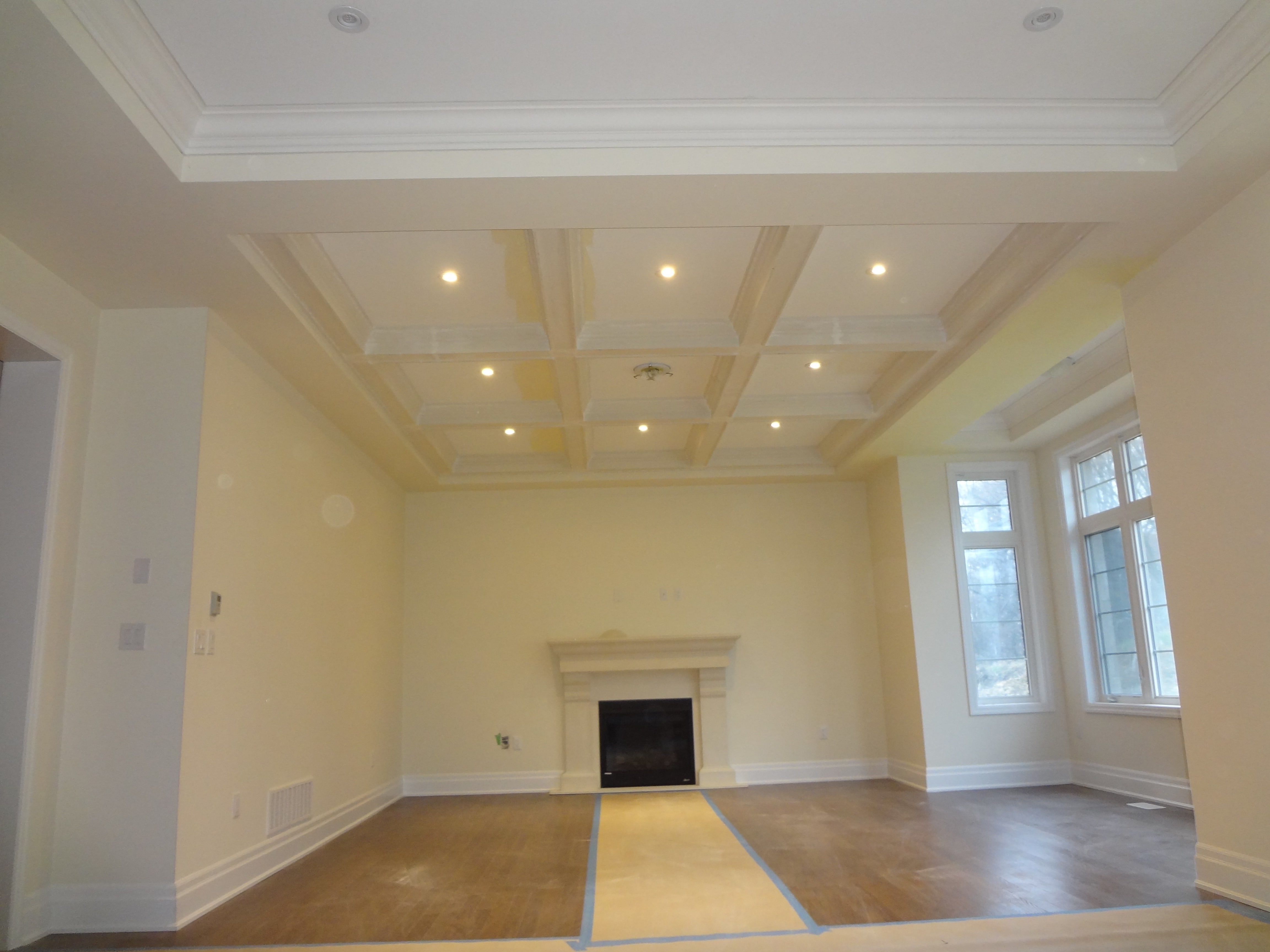 Coffered Ceilings World Class Moulding Gta S Best