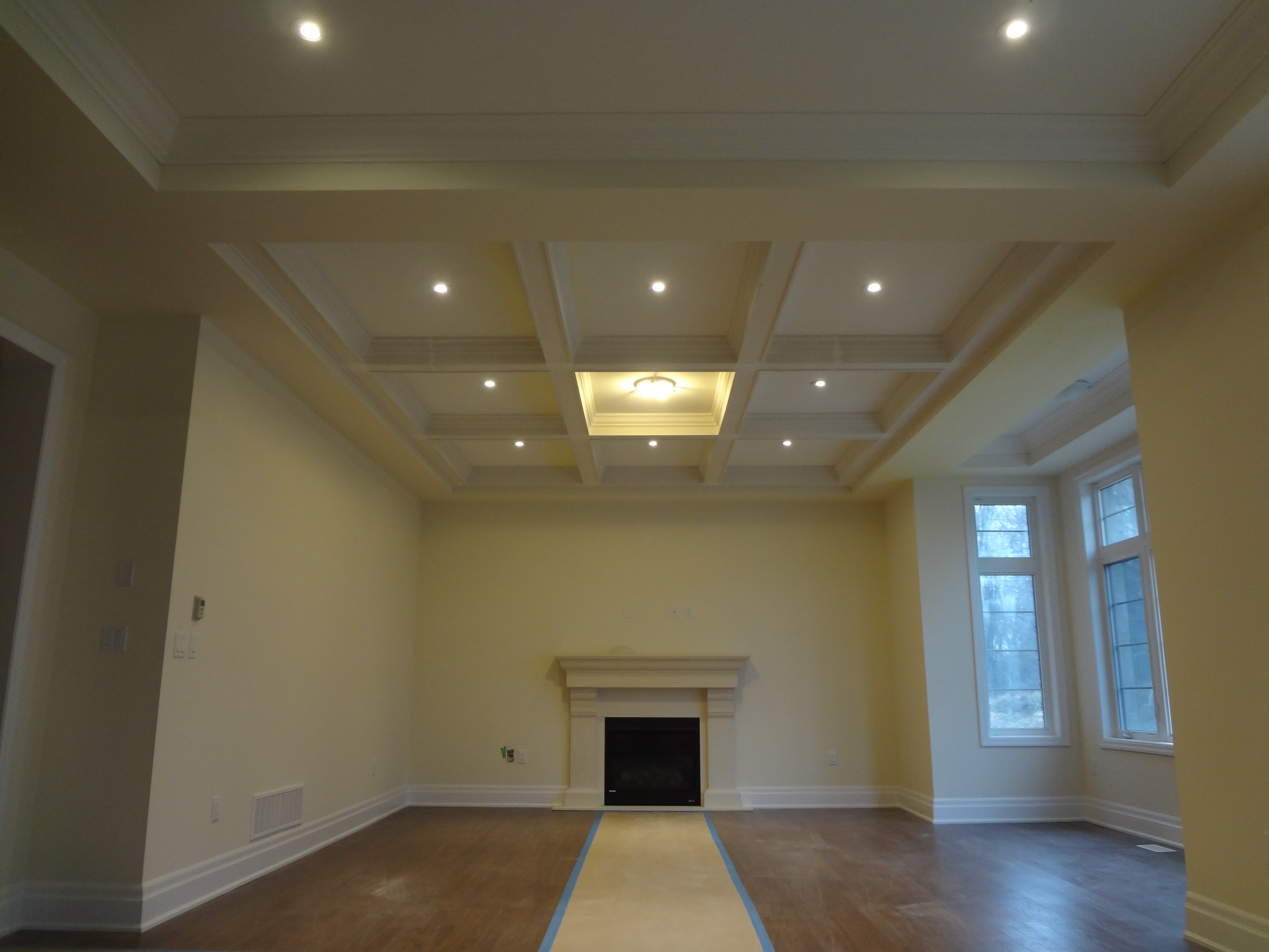 Coffered Ceilings World Class Moulding Gta S Best Coffered Ceiling Installation